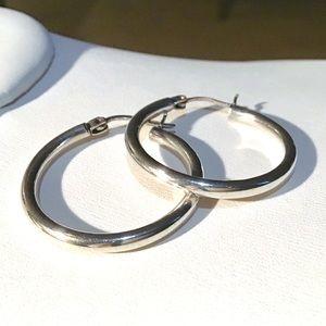 ❇️VINTAGE Sterling Silver Hoop Earrings